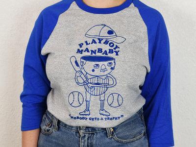 """Nobody Gets A Trophy"" Baseball Shirt main photo"
