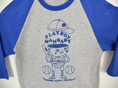 """Nobody Gets A Trophy"" Baseball Shirt photo"