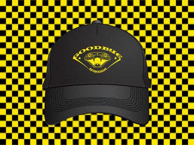 Yellow On Black 'Snake' Hat main photo