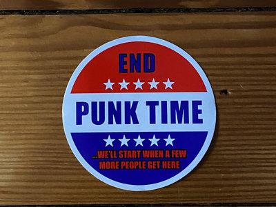 End Punk Time Sticker main photo