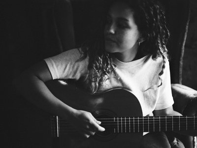 Eliza Acoustic Guitar Print main photo