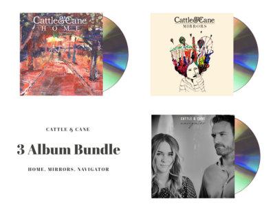 3 Album CD Bundle main photo
