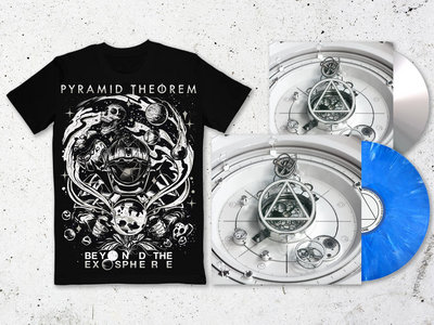 'Beyond the Exosphere' Blue Smoke Vinyl *Limited Edition* + Digipak CD + Shirt main photo