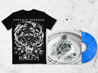 'Beyond the Exosphere' Blue Smoke Vinyl *Limited Edition* + Shirt main photo