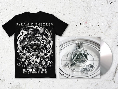 'Beyond the Exosphere' Digipak CD + Shirt main photo