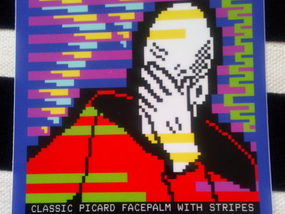 Picard Facepalm sticker main photo