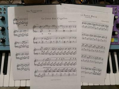 """""""Fragments"""" Piano Sheets main photo"""
