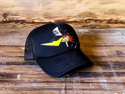 Trucker Cap, Steve Burner Design, Black - Limited main photo