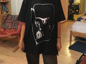 Camila Fuchs Logo Black / Silver T-Shirt photo