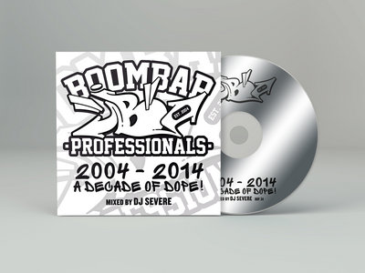 A Decade of Dope Mixtape - CD (BBP34) main photo
