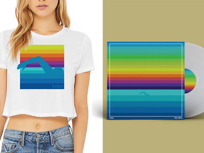 Free Swim Crop Top + Vinyl combo package main photo