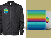 Free Swim Bomber Jacket + Vinyl combo package photo