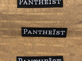Embroidered Patch Pantheist Logo photo