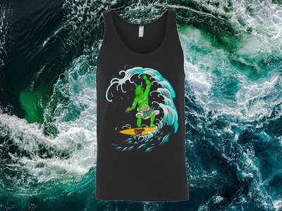 Surfing Oni Tank Top main photo