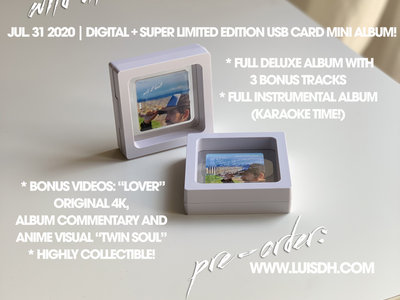 Wild At Heart (Deluxe) - Super Limited Edition USB Card Mini Album + Digital Album main photo
