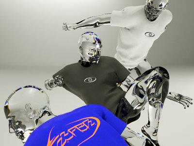 Hyperboloid 2020 T-Shirt designed by gsm_garden main photo