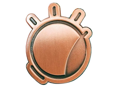 Copper Eye - enamel pin main photo