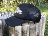 Logo snap-back trucker hat photo