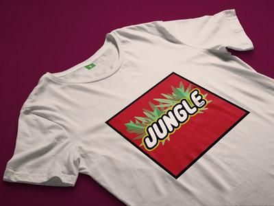 JUNGLE Bricks T-shirt (White) main photo