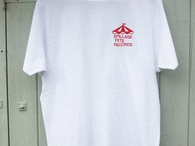 Spillage Fete Records T-shirt - White main photo