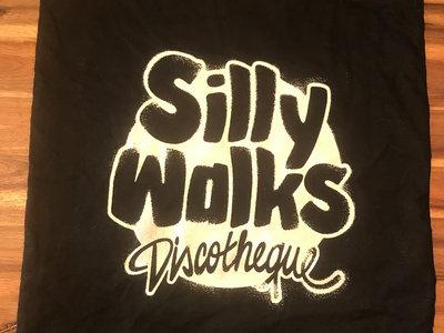 Silly Walks Jute Bag - silk screen printed with Logo! main photo