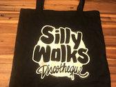 Silly Walks Jute Bag - silk screen printed with Logo! photo
