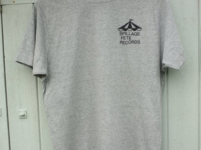 Spillage Fete Records T-shirt - Grey main photo