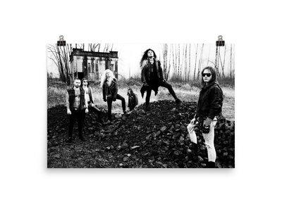 Decadence & Decay Band Poster 2' x 3' main photo