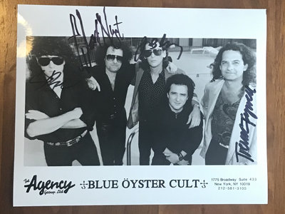 Autographed Blue Öyster Cult Band Photo main photo