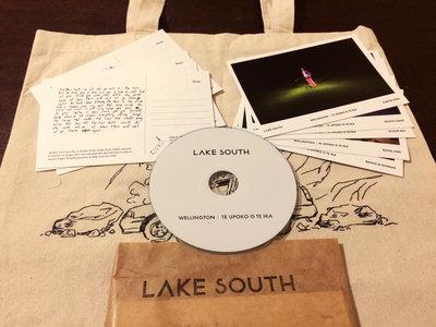 Tote bag + Postcards + CD main photo