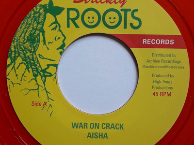 AISHA - WAR ON CRACK 7 Inch (Limited Edition Red Vinyl) main photo