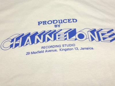 CHANNEL 1 LICENSED T SHIRT (Gildan 100% Cotton) BLUE PRINT + LTD CHANNEL 1 CARRIER BAG main photo
