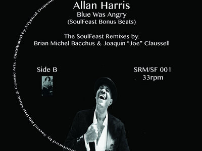 """A Soulfeast - Allan Harris """" Mother's Love """" ( Special 12"""" Jazz Project ) INVENTORY FIND. main photo"""