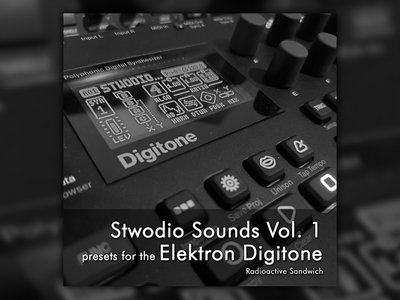 Stwodio Sounds Vol. 1 - presets for the Elektron Digitone main photo