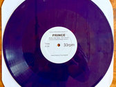 "A Special Unofficial Edits & Overdubs - PRINCE (Sticky Like Glue) "" This House is Ours "" -  12"" PURPLE VINYL photo"