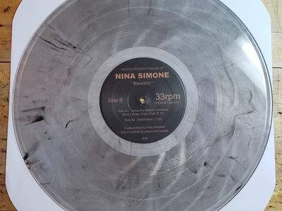 "A Special Unofficial Edits, Overdubs & Unreleased Remixed Presents: Nina Simone "" Blackbird "" 12"" Clear Vinyl Release. main photo"