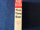 First Time Ever: A Memoir - paperback signed copies photo