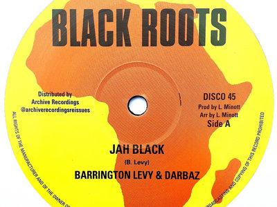 "BARRINGTON LEVY - JAH BLACK/ROBERT EMMANUEL - LEAVE NATTY BUSINESS (Black Roots/Archive 12"") main photo"