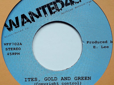 "JOHNNY CLARKE - ITES GREEN AND GOLD (Wanted45/Jackpot/Archive 7"") main photo"