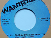 "JOHNNY CLARKE - ITES GREEN AND GOLD (Wanted45/Jackpot/Archive 7"") photo"