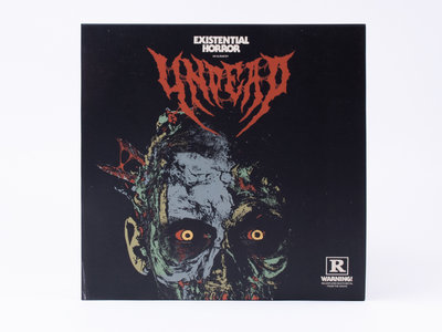 "Undead ""Existential Horror"" LP (Limited Edition) + CD + 12'' Magazine Issue #01 main photo"