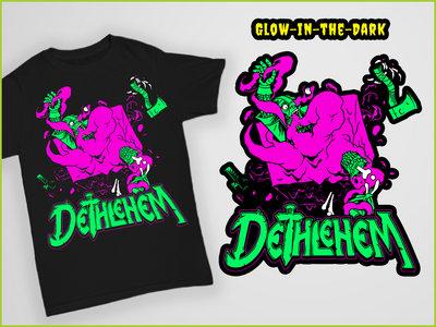 Gelatinous Cube Glow-in-the-dark T-Shirt main photo