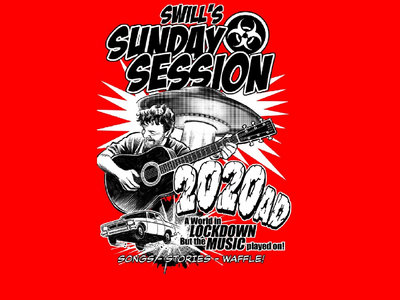 Swill's Sunday Session Tshirt - LIMITED EDITION RED main photo
