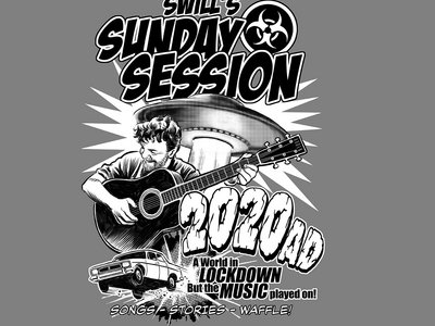Swill's Sunday Session Tshirt - LIMITED EDITION GREY main photo