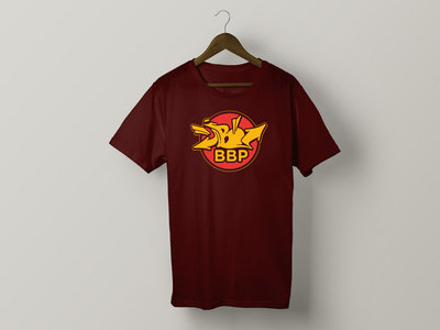 BBP 'B Stamp' T-shirt (Maroon, Forest Green) main photo