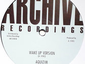 "ALLAN KINGPIN - WAKE UP (Raw Soul/Archive 12"") Mixed by Mad Professor photo"
