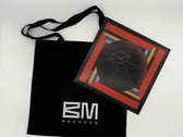 New brand Black Cotton Tote Bag photo