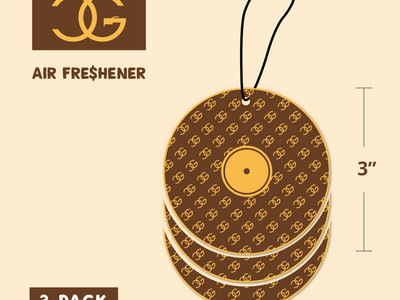 CG Coconut Air Freshener (3 Pack) main photo