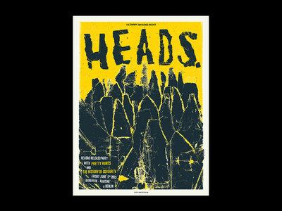 HEADS. Berghain Kantine Screenprint main photo