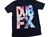 DUB FX ROOTS TEE BLACK photo